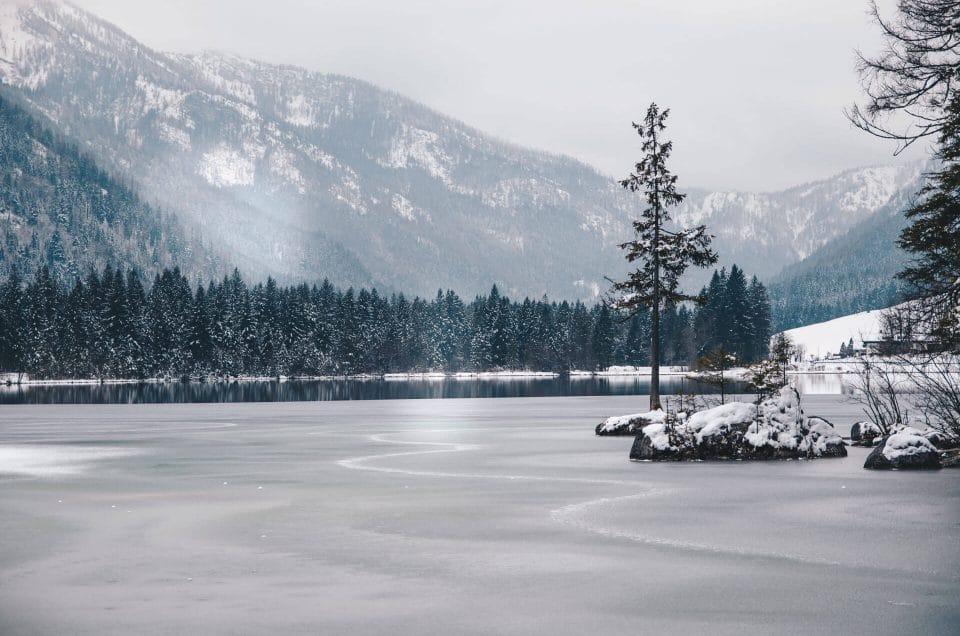 Frozen - Bayrischer Hintersee im Winter
