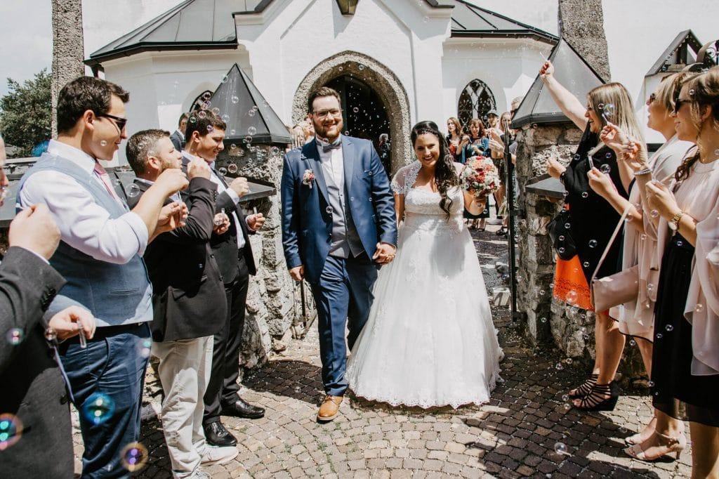 Hochzeit Spalier