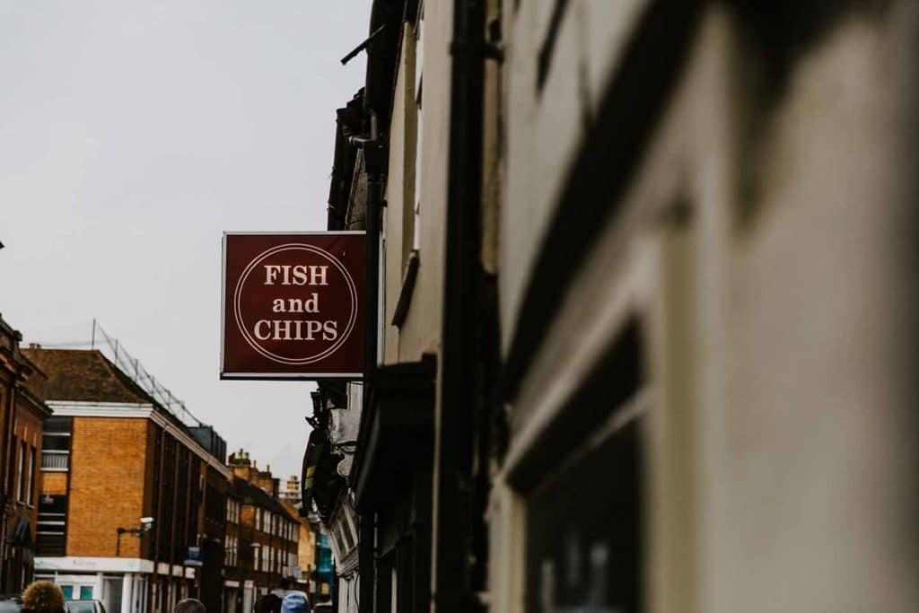 Fish & Chips England