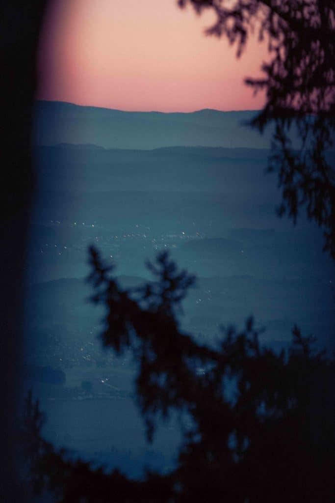 Sonnenaufgang Gaisberg