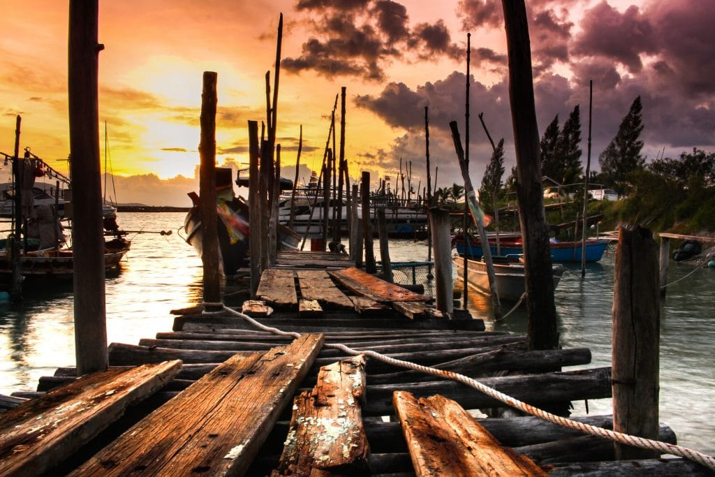 Sunset Pier Koh Samui