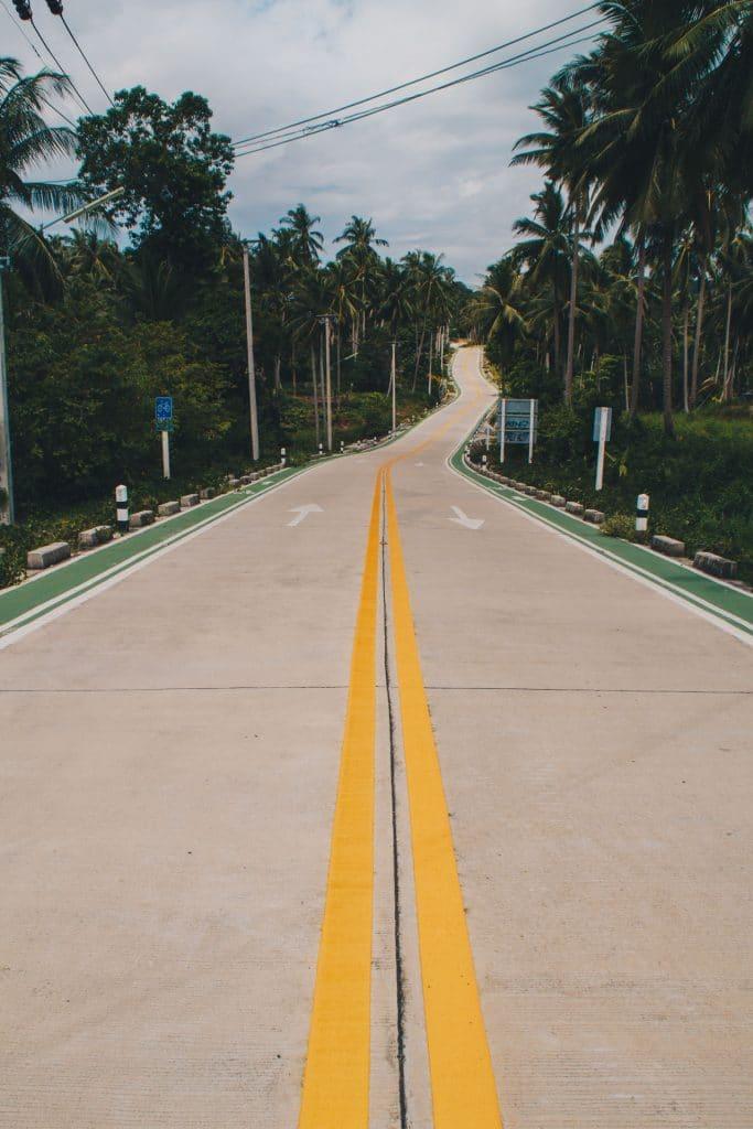 Koh Phangan Streets